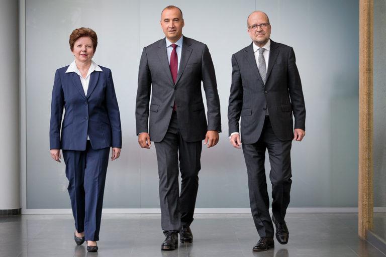 Portrait Sylvia Bardach, Norbert Haslacher, Hermann Mattanovich